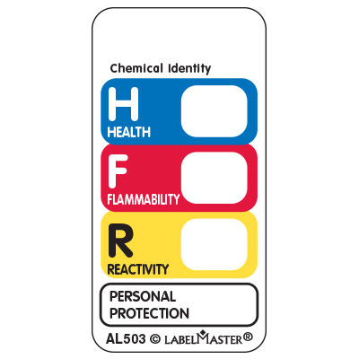 Nfpa Label Template Cliparts Co