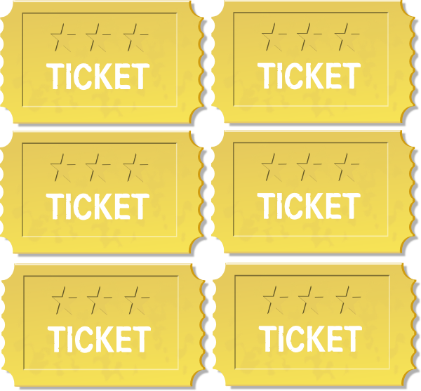 blank golden ticket template clipartsco