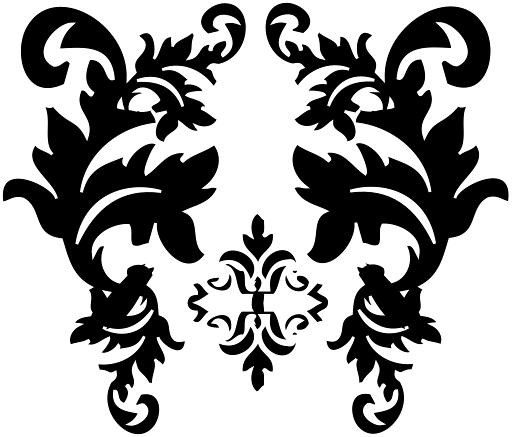 Simple Damask Patterns Png