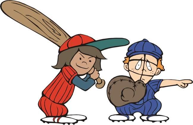 free clipart of baseball players - photo #18