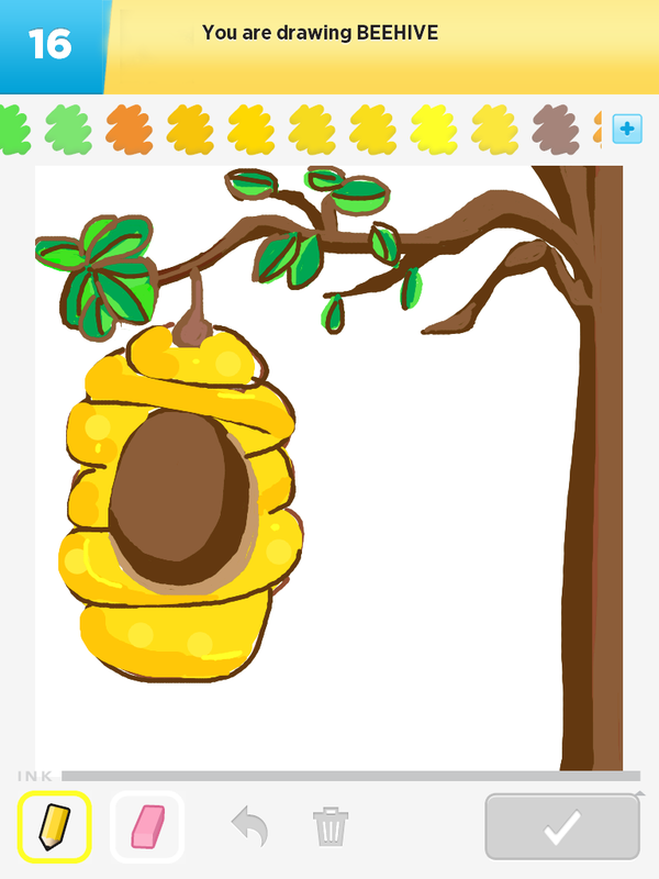 CLICK HERE to see: Beehive - My Best of Draw Something