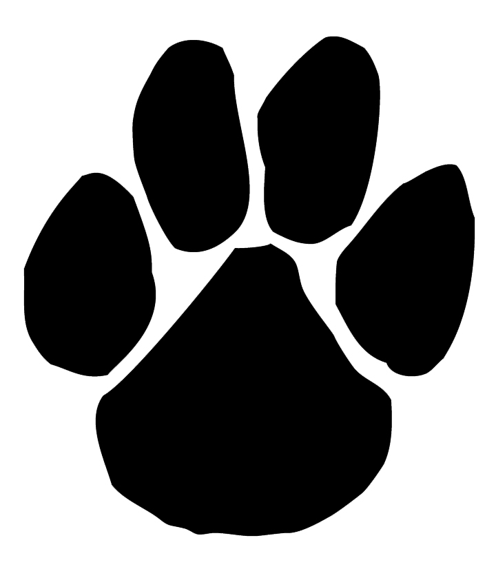 Panther Paw Print Clip Art - Cliparts.co