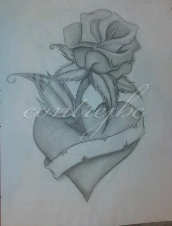Cool drawings of roses and for Cool rose drawings
