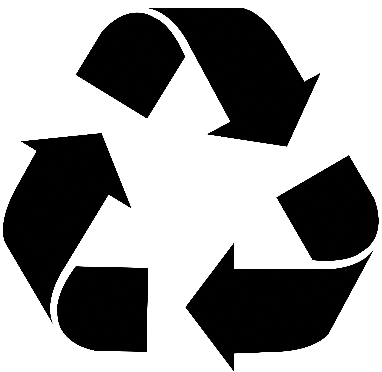 Fourniture avec logo RRR, recycler, réduire, respecter  Un bureau sur la terre