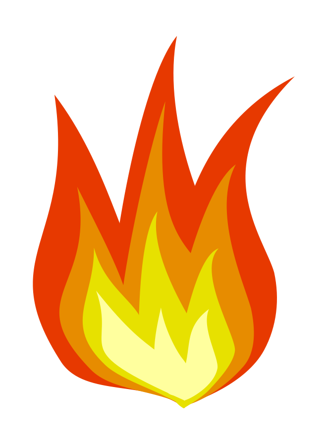 Fire Icon Clipart, vector clip art online, royalty free design ...