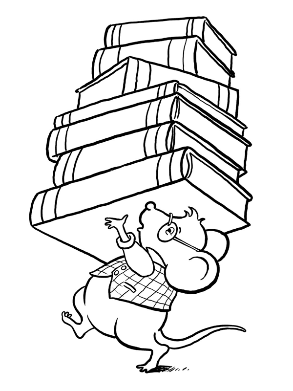Pictures Of Reading Books Cliparts Co Books For Coloring