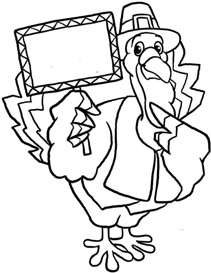 thanksgiving funny coloring pages - photo#15