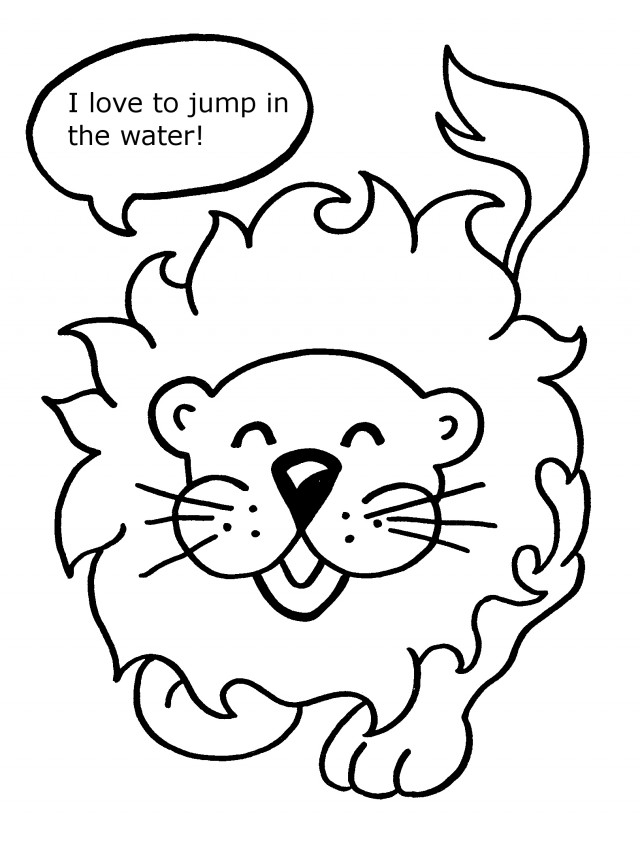 animal adventure coloring pages - photo#2