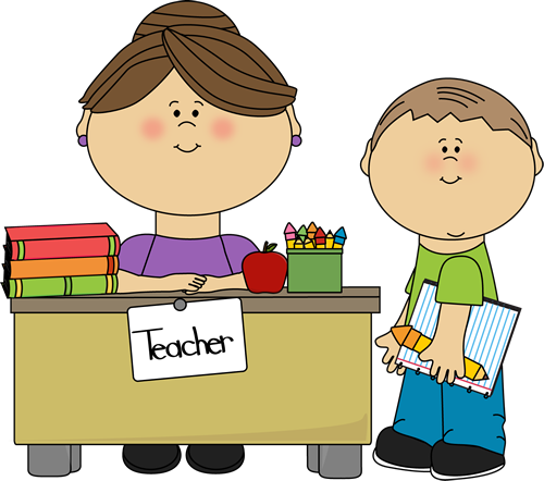 Free Clipart Of Teachers And Students