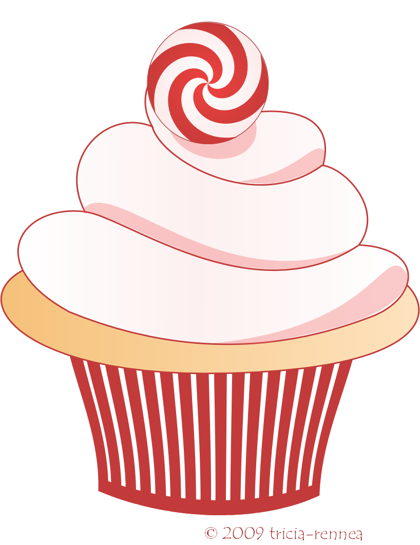 Birthday Cupcakes With Candle | Clipart Panda - Free Clipart Images