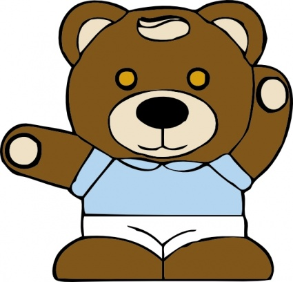 Teddy Bear clip art - Download free Other vectors