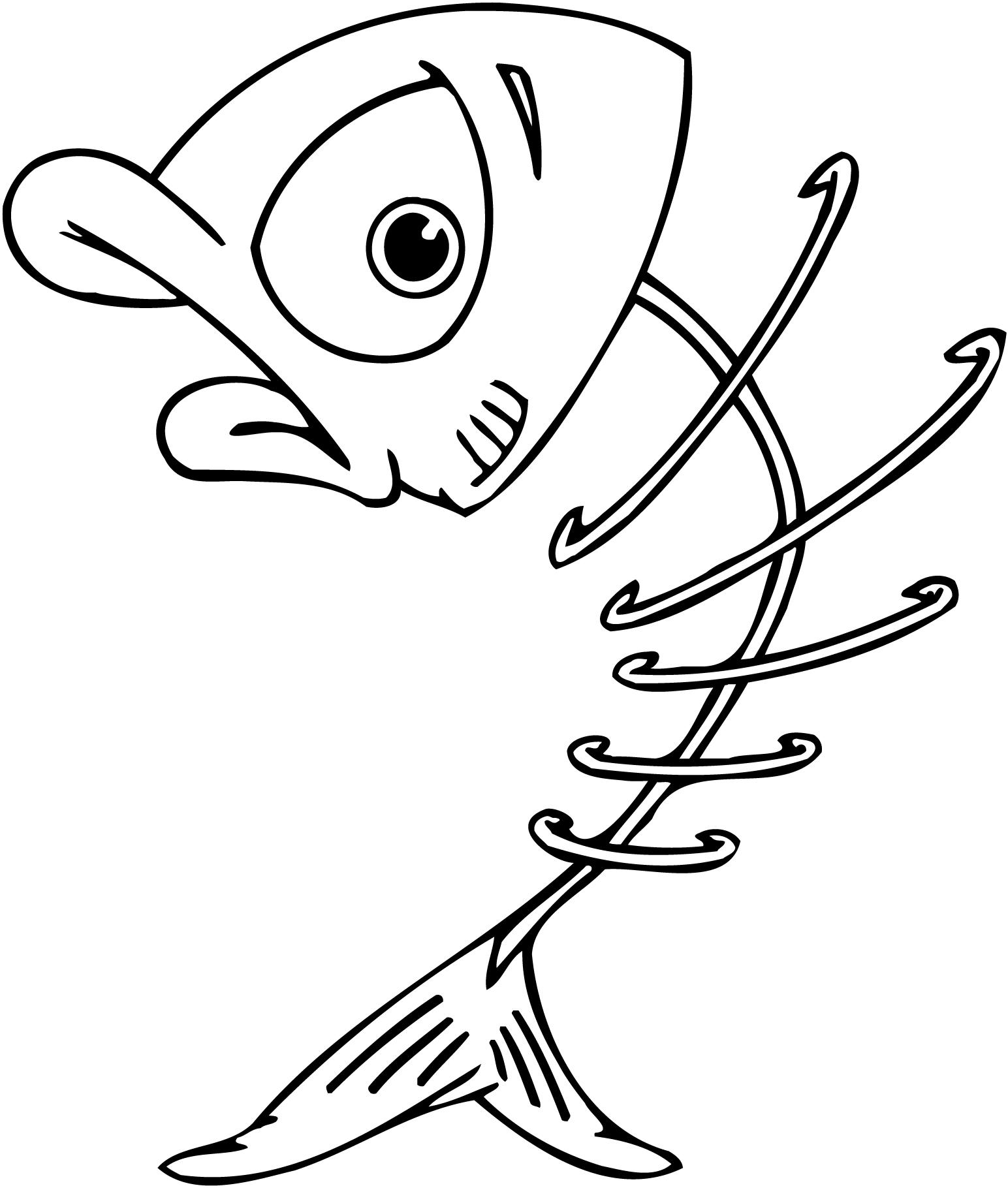 coloring page of catfish collections
