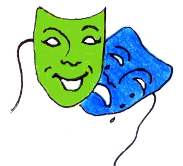 Drama Theater Masks And Post Mycelularorg - ClipArt Best - ClipArt ...