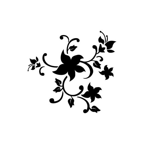 Free Printable Flower Stencil Templates - Cliparts.co