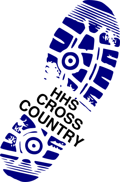 Cross Country Running Symbols Clip Art
