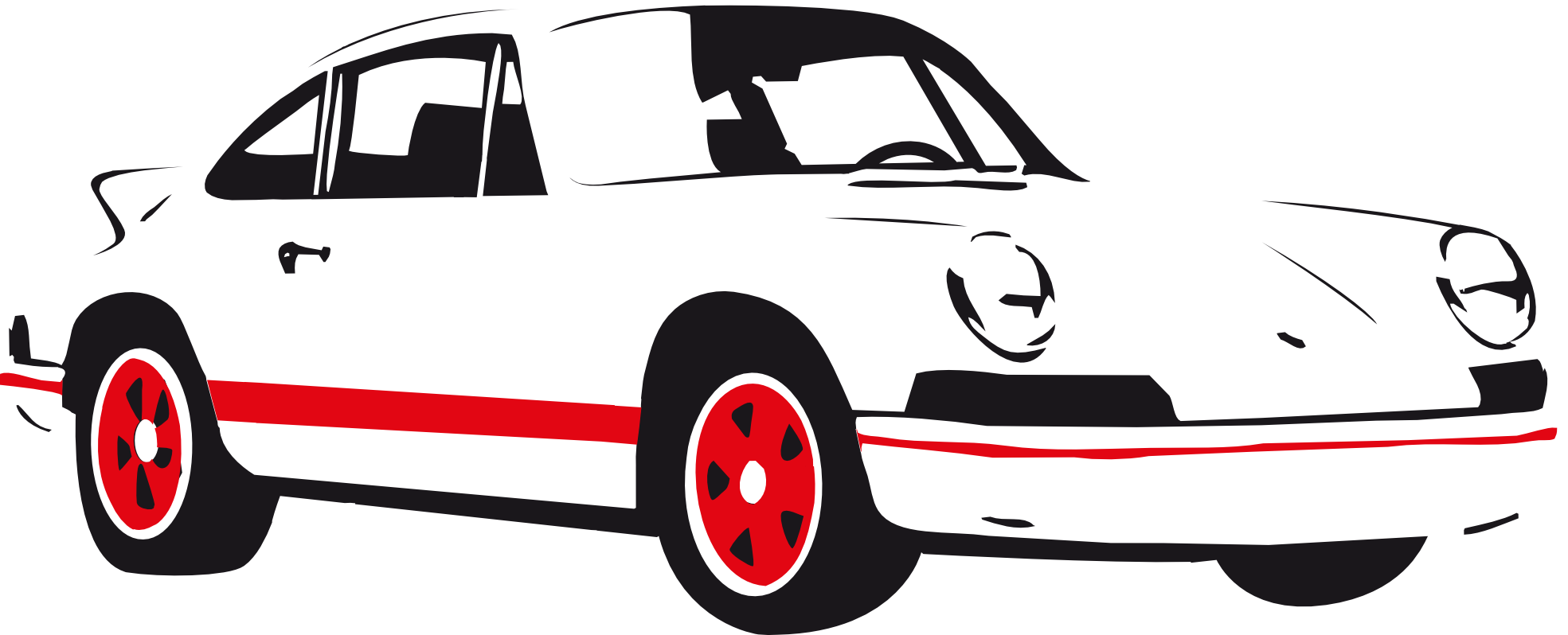 black sports car clipart - photo #12