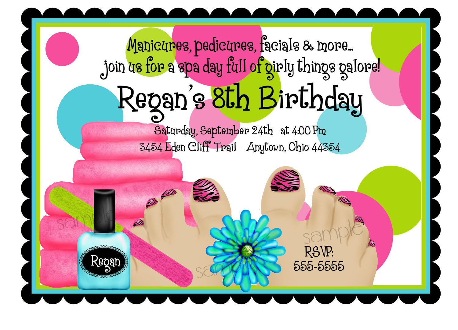 Slumber Party Invitation is awesome invitations design