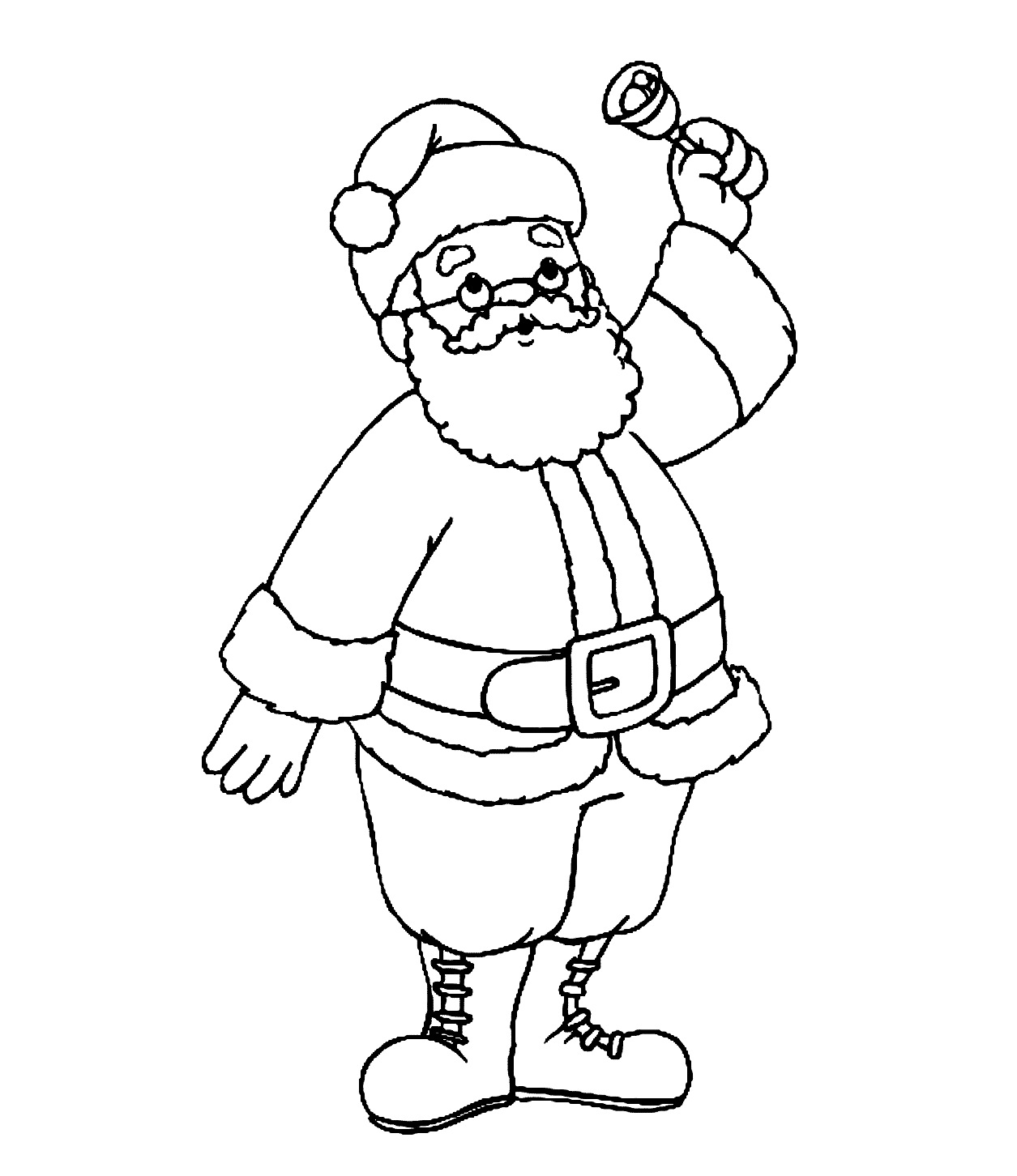 1255 x 1452 jpeg 182kB, Father Christmas Colouring Pictures - Cliparts ...