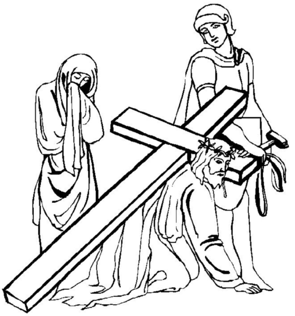 Coloring pages of jesus on the cross - Coloring Pages & Pictures ...