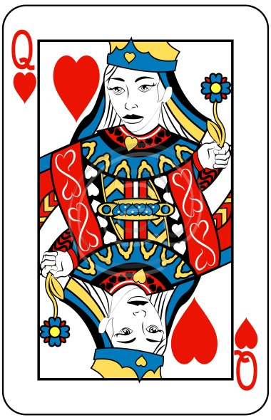 Queen Of Hearts Clip Art Free - Cliparts.co