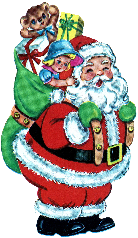 santa bag clipart free - photo #42