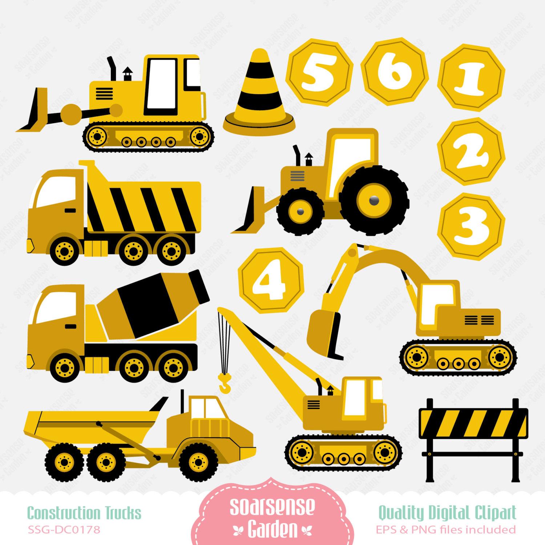 Construction Truck Clip Art - Cliparts.co