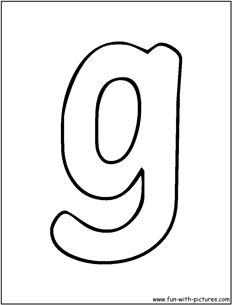 Free Block Letter T Coloring Pages