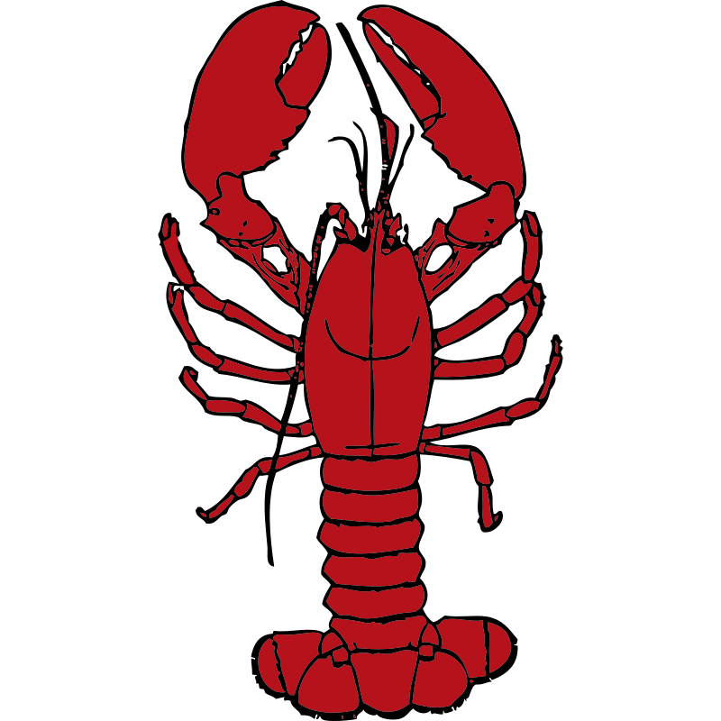 Clipart - lobster