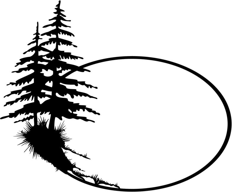 Pine Tree Outline - Cliparts.co