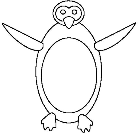 cartoon penguins coloring pages - photo#43