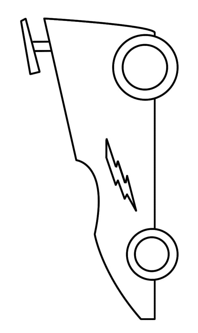 Lightning bolt coloring page for Lightning bolt coloring page