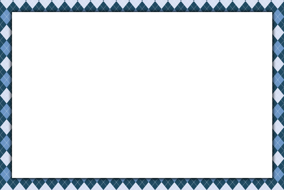 Blue Page Border