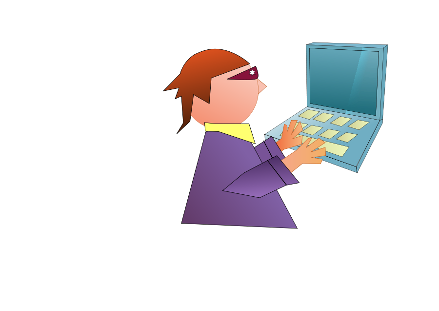 computer user clipart free - photo #26