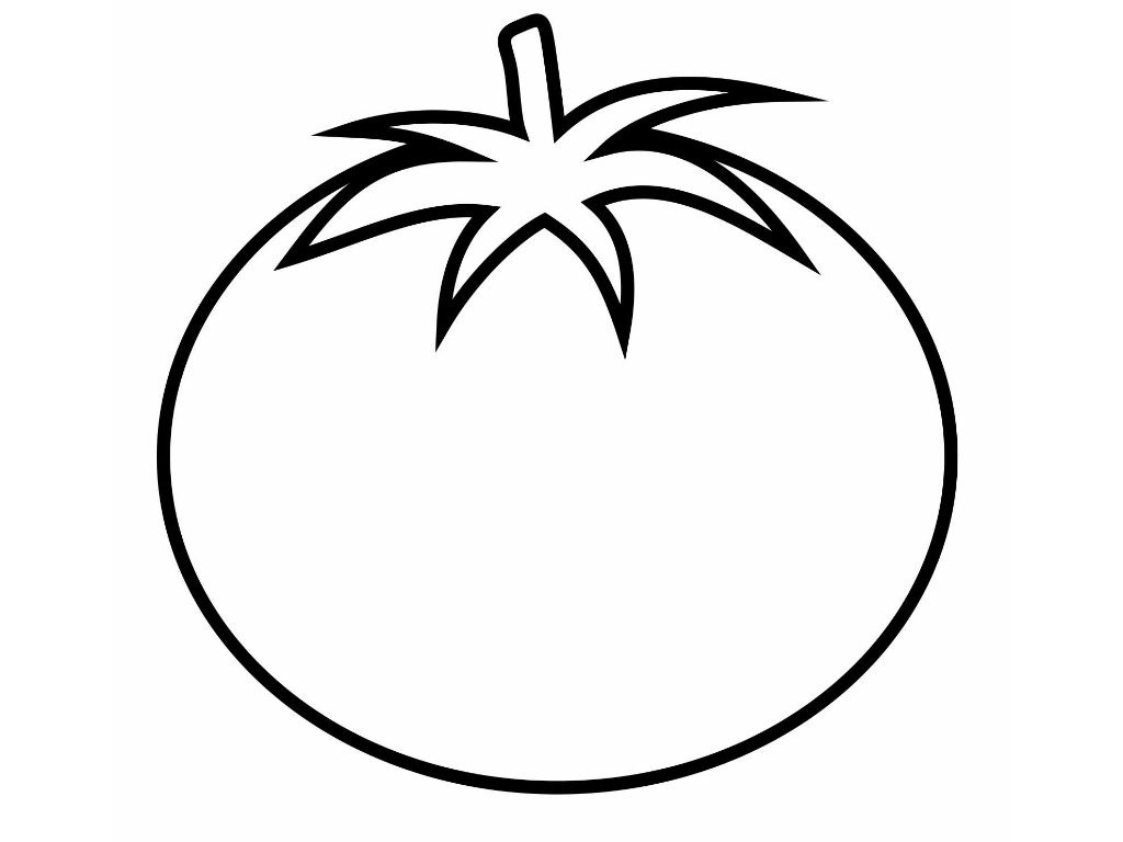 coloring pages of tomato plants - photo#26