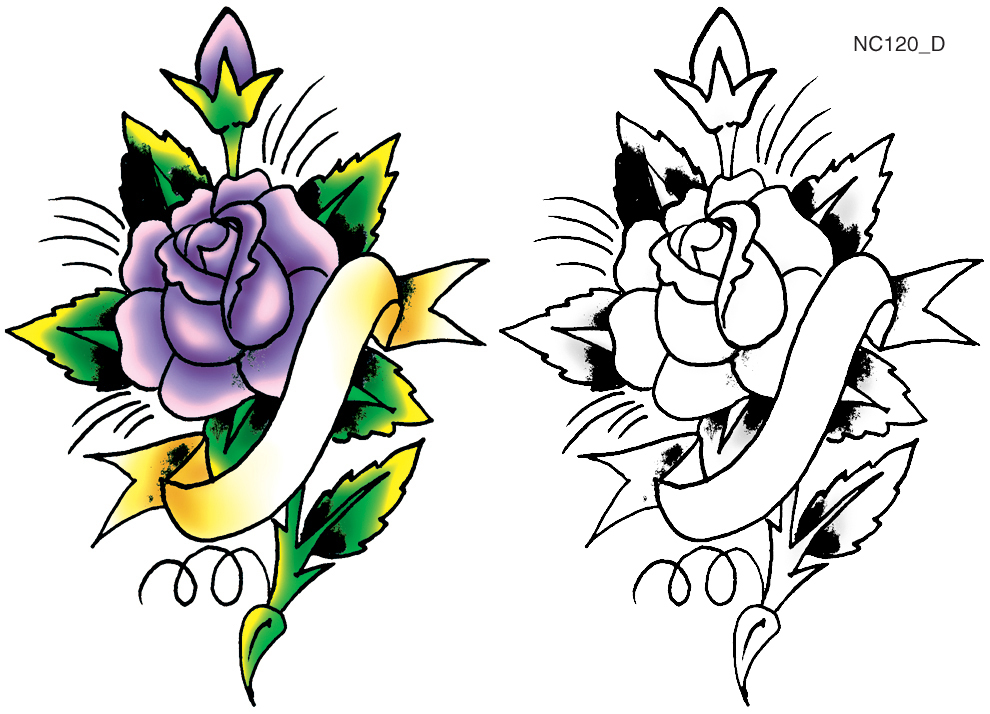 Pick Your Ink - FREE Tattoo Designs from Spaulding & Rogers