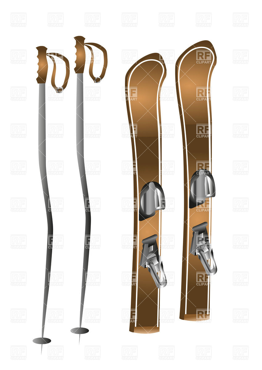 skis clipart cliparts co sport clip art images sports clipart to color