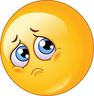 Worried Face Emoticon - Cliparts.co