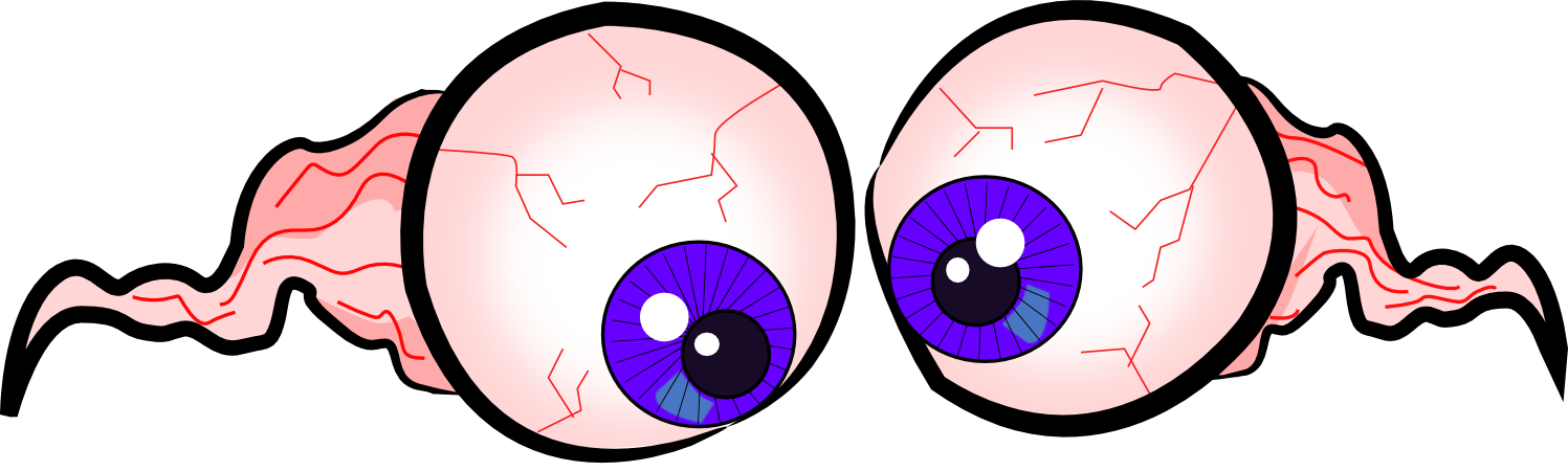 Cartoon Bloodshot Eyes - Cliparts.co