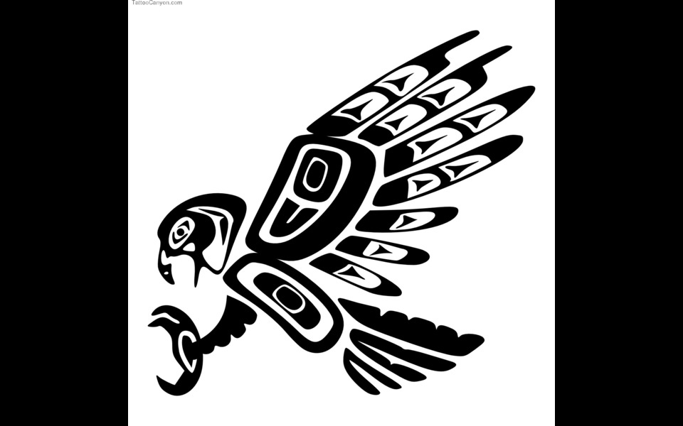 Coast Totem Pole Eagle Celebrate The National Emblem With This ...