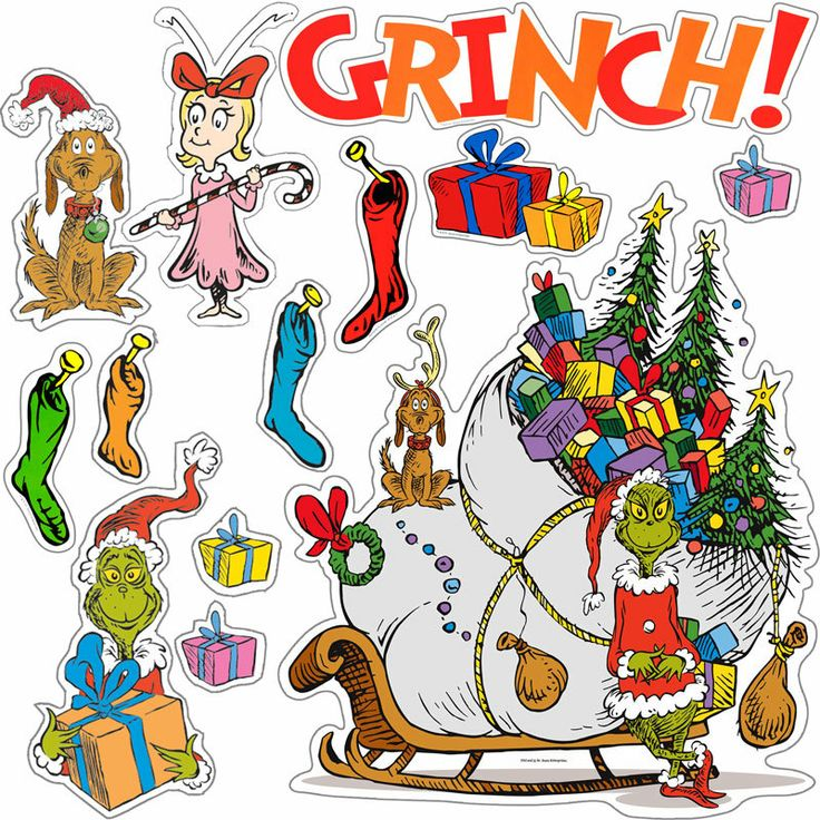 The Grinch Clip Art - Cliparts.co