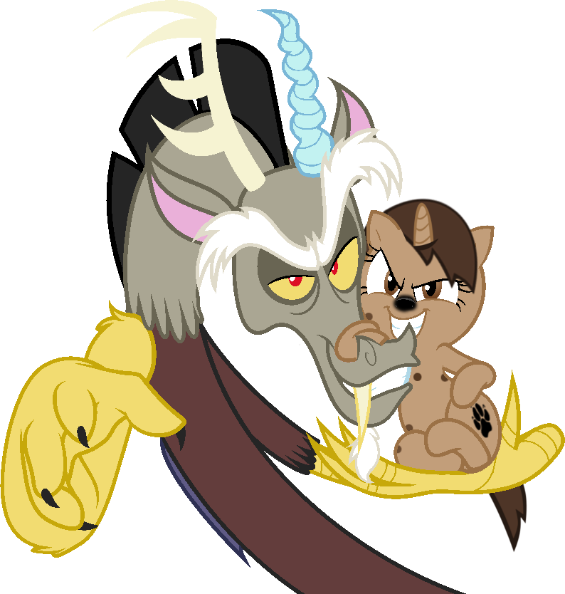 Discorde And Hyena by MLP-Scribbles on deviantART