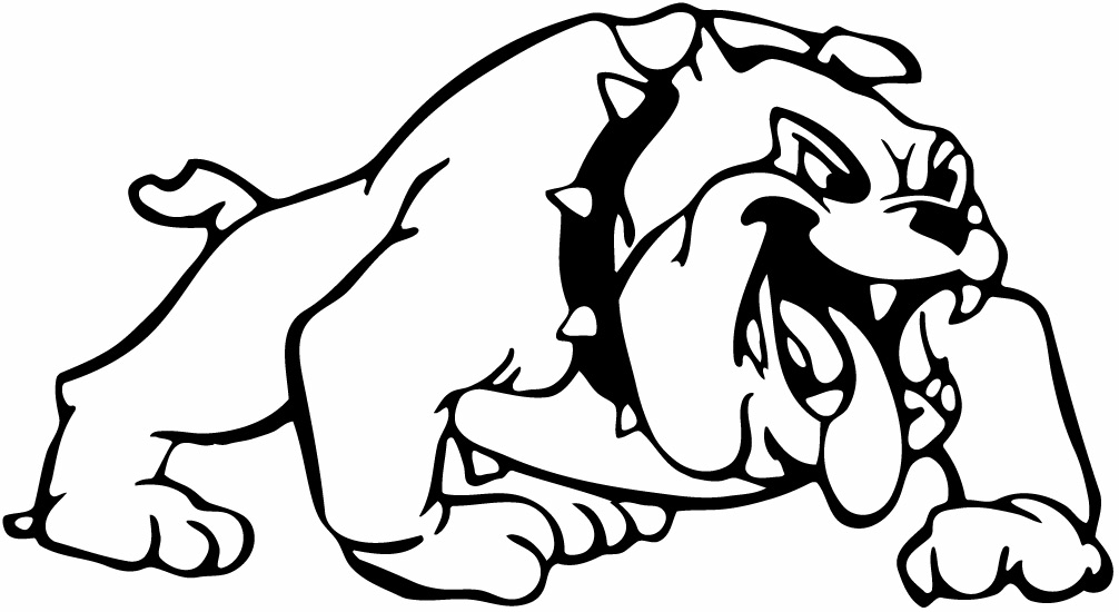 school bulldog coloring pages - photo#36