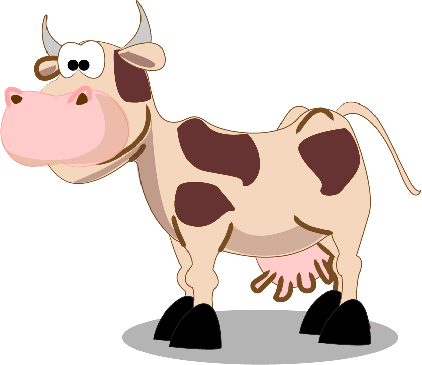 Cow Cartoon Characters Clipartsco