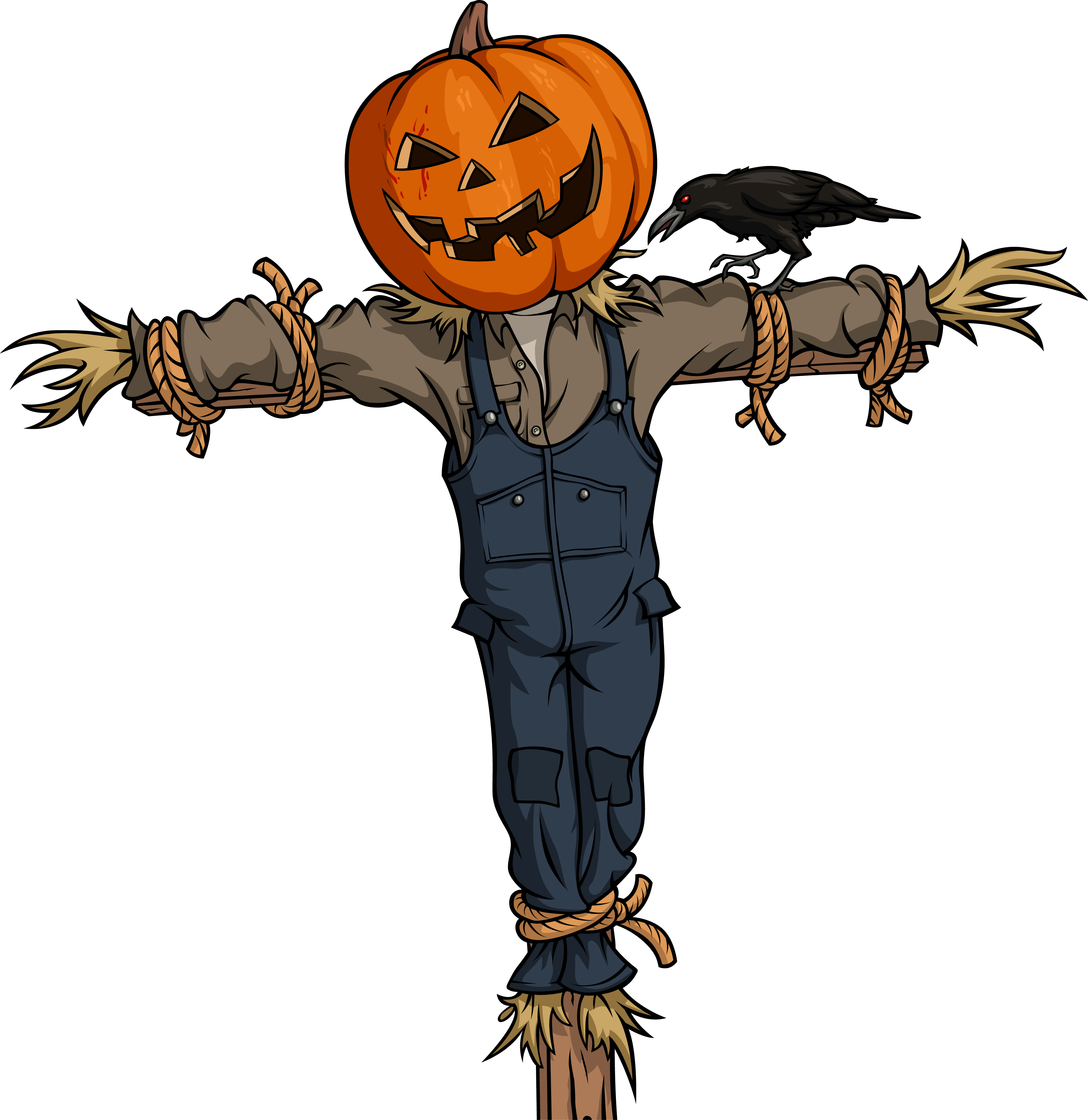 scarecrow hat clipart - photo #34