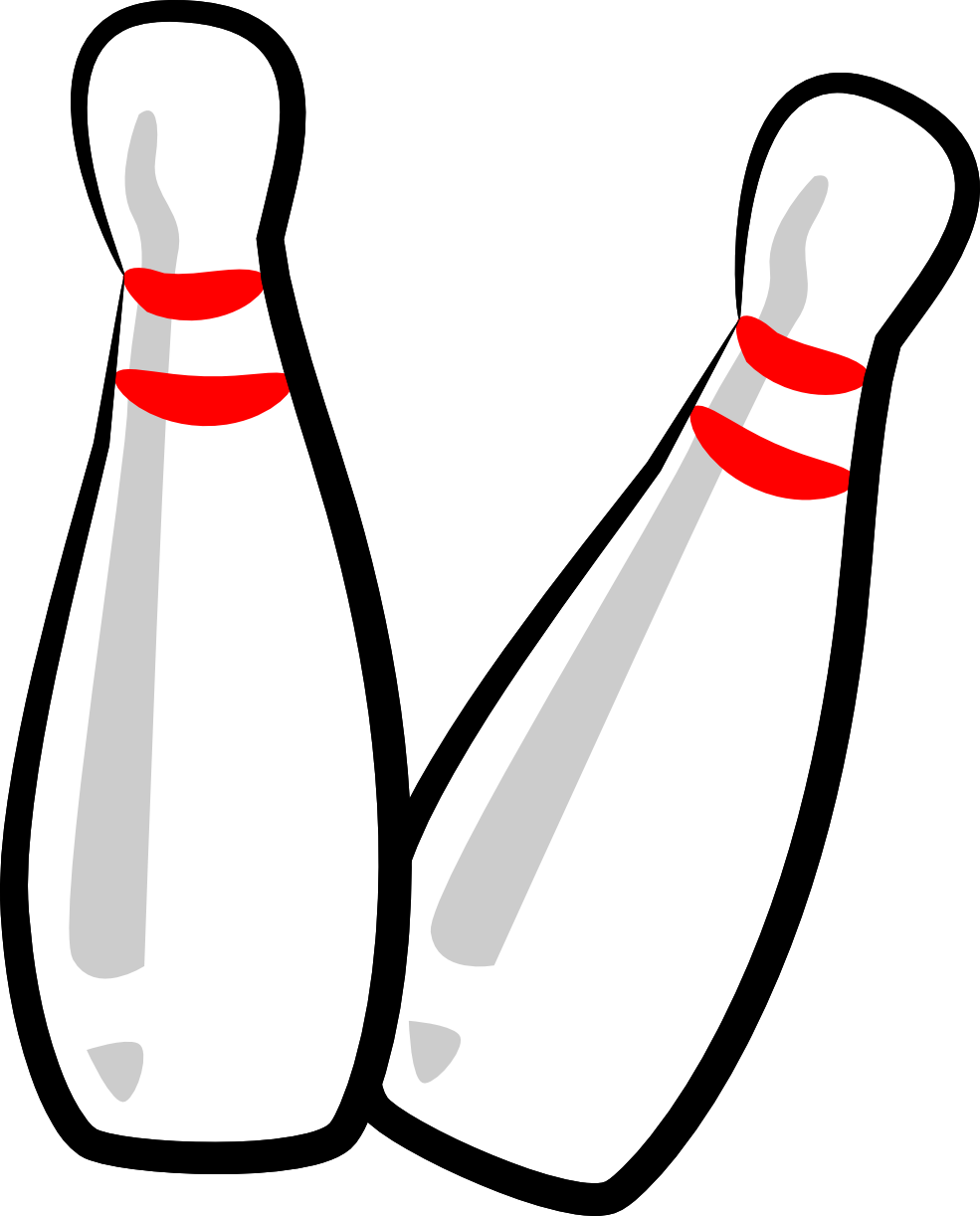 Bowling Pin Clipart - Cliparts.co