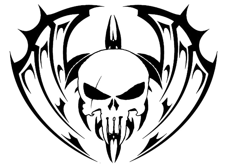 Tribal Skull Tattoo Design Ideas   Tattoo Designs - Cliparts.co