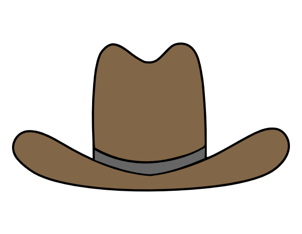cartoon cowboy hat clipart rh worldartsme com cartoon cowboy hat clip art free cartoon cowboy hat clip art