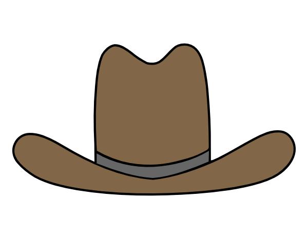 cartoon cowboy hat clipart rh worldartsme com cowboy hat clip art free cowboy hat clip art free