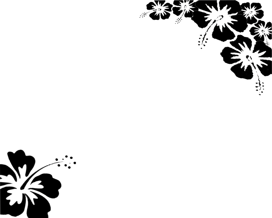 Wallpapers black white flower wallpaper by revenniaga customize ...