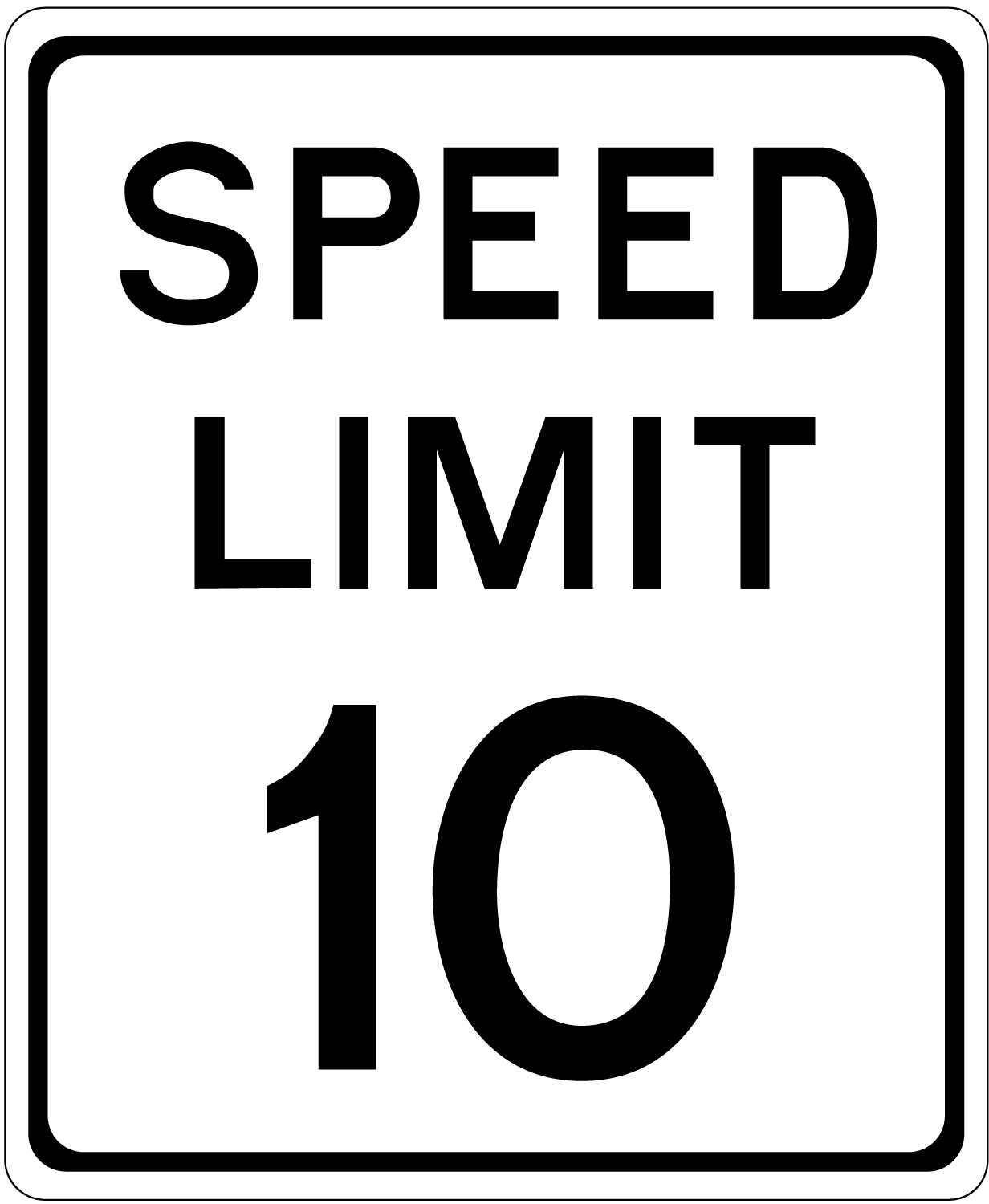 Speed Limit Signs Pictures Cliparts Co